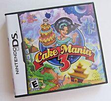 Cake Mania 3 Nintendo DS Game Complete