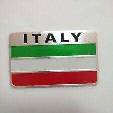 Car Decoration Aluminum alloy Emblem Badge of Italy Flag 3D Logo sticker NEW