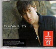 (BU313) Duncan James, Sooner or Later - 2006 CD