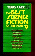 THE BEST SCIENCE FICTION OF THE YEAR #9 (SIGNED by Terry Carr, editor/1st US/PBO
