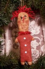 PRIMITIVE MAILED PATTERN  RAGGEDY ANNIE ~CHRISTMAS VALENTINES EVERDAY QUICK EASY