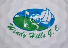 (1) Windy Hills Golf Course Logo Golf Ball (New York ?)