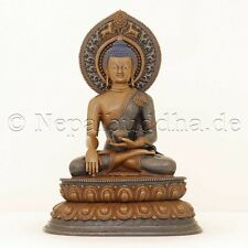 Statua Buddha Amitabha ORO Nepal RAME Masterpiece scultura PEZZO UNICO