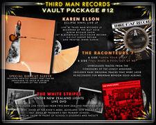 "Karen Elson LP - Third Man Records Vault #12 White Stripes DVD/ Raconteurs 7"""