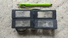 Mk6 Vw Jetta 2012 Rear Right/Left License Plate Lights Factory Pre-OWNED Oem