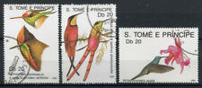 Sao Tome and Principe 1989 Mi. 1575-1584 Used 100% Birds