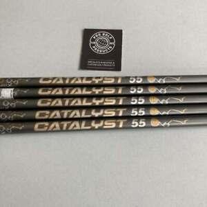 Project X Catalyst Graphite Iron Shaft 6-PW (5 Shafts) 5.0 Flex 55gram