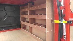 Ford Custom Van Racking SWB Off Side  ,Tool Storage, Plywood Shelving, Racks