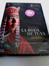 """DVD """"LA BODA DE TUYA"""" PRECINTADO SEALED WANG QUAN'AN"""