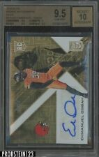 2016 Elite Gold Emmanuel Ogbah Cleveland Browns RC Rookie 1/1 BGS 9.5 w/ 10 AUTO