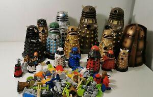 Bundle of Daleks - Various types - wind up, old bubble bath, pod - Doctor Who