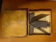LUFKIN DIE MAKERS SQUARE 138C IN ORIGINAL BOX 4 PIECES PLUS BOX GREAT CONDITION