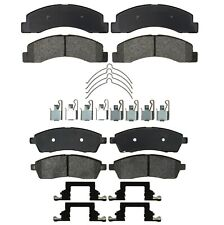 Front Rear Semi-Met Brake Pad Sets Kit ACDelco Pro for Ford Excursion F-Series