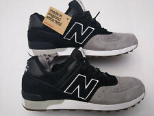 NEW BALANCE 576 M576PKG MADE IN ENGLAND Black Grey Sneakers Shoes Size 10 Men's
