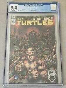 TEENAGE MUTANT NINJA TURTLES #95 CGC 9.4 MONTREAL COMIC CON JENNIKA 1ST TMNT IDW