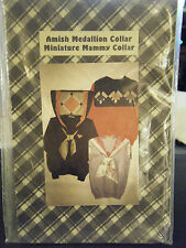 Country Punk Amish Medallion & Miniature Mammy Collar w/Tie Pattern
