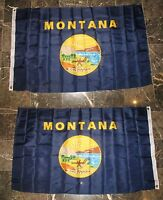 3x5 State of Montana 2 Faced 2-ply Wind Resistant Flag 3x5ft
