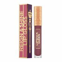 Lipstick Queen Reign & Shine Lip Gloss Mistress of Mauve - New In Box 0.09 Oz