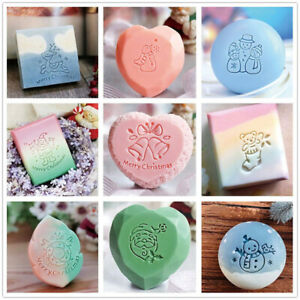Merry Christmas Series Stamp Xmas Acrylic Soap Making Chapter Custom Stamps Gift
