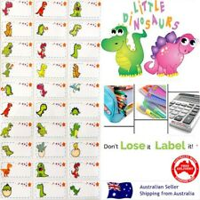 Dinosaur kids Personalised Name Label preschool back2school pencil name stickers