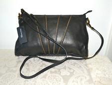 NWT $195 JOELLE HAWKENS By Treesje Morrison Black Leather Crossbody Bag Handbag