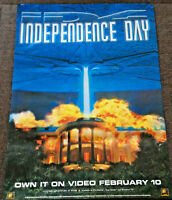 INDIPENDANCE DAY - QUAD Movie Poster - FREE NEXT DAY DELIVERY