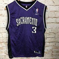 Sacramento Kings Reebok NBA Authentics Tank Jersey #3 Abdur Rahim Youth Size L