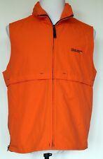 Polo Jeans Co Ralph Lauren Outerwear Flame Orange Hooded Mesh Lined Nylon Vest S