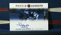 Oliver Wahlstrom 2019-20 UD Ultimate Rookie Accents Auto /99 RC Islanders