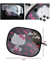 HELLO KITTY 2PCS Side Sun shade window Screen Visors Car Vehicle Accessories