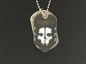 Call of Duty Ghosts Dog Tags Limited Edition