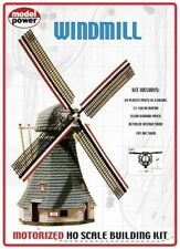Model Power 404 HO Scale Motorized Windmill