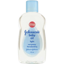 Johnsons Baby Oil Light Massage Blend 125ML Soothe & Condition Baby'S Skin