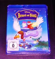 Bernard E Bianca La Mäusepolizei Walt Disney Film blu ray Nuovo & Originale