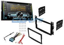 JVC BLUETOOTH CAR STEREO USB & AUX INPUTS W XM RADIO W INSTALL KIT & HARNESS