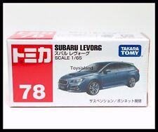 TOMICA #78 SUBARU LEVORG 1/65 TOMY NEW DIECAST CAR