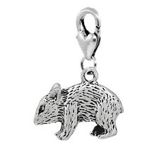 Mouse Rat Pet Animal Double Sided Rodent Lobster Clip Dangle Charm for Bracelets