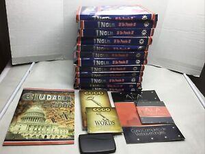 INGLES SI SE PUEDE 12 DVD & WOORKBOOK , TRADUCTOR DE REGALO Mes Complete Set