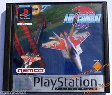 PlayStation 1 AIR COMBATjeu de simulation d'avions psx ps1 ps2 complet testé