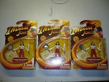 Lot of 3 Indiana Jones Raiders of the lost ark Marion figurines boxed