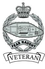 Royal Tank Regiment Veteran Car Sticker