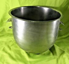 """Don 18-8 Stainless Steel Mixer Bowl 20 Quart Hobart Replacement 11.5"""" Tall"""