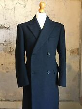 Vintage Bespoke Barathea Evening tails White Tie Tailcoat Size 44 ( Wtn1)