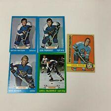 Vintage Pittsburgh Penguins Lot Mario Lemieux Jean Provonost Kehoe 1972 - 1990