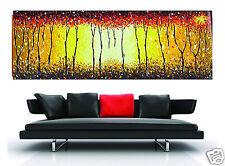 Huge 180cm x 60cm  Bush Fire Dream Authentic Painting original Art By Jane