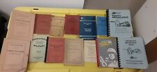 Assorted Railroad Collectible Manuals, Guides And Pamplets