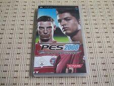 PES 2008 Pro Evolution Soccer für Sony PSP *OVP*