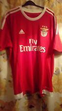 Benfica Home Adidas Football soccer Shirt Jersey Large