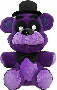 """NEW Five Nights At Freddy's 7"""" Shadow Freddy Bear Plush Dol Toy"""