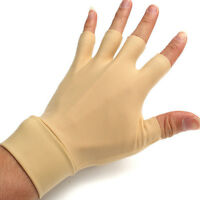 1 Pair Arthritis Relief Gloves Washable Nylon Spandex Anti Hand Compression *~